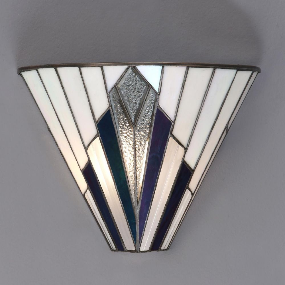 Astoria Wall Light (Art Deco, Wall Lamp) T026W (Tiffany style)